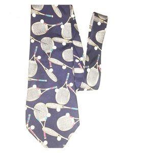 Men's GAP TENNIS 100% Silk tie USA hand made